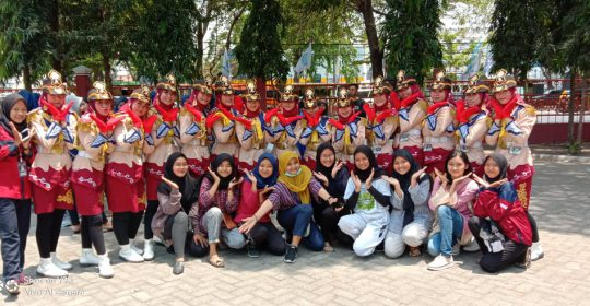 Tim PASKIBRA SMKN 2 Jombang Juara Bina I Lomba PBB